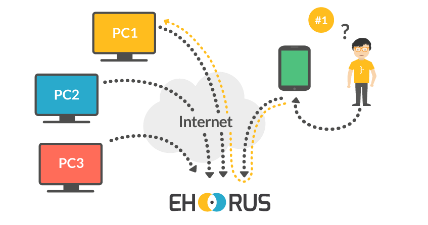 Alternative to TeamViewer: eHorus, simple, secure and instantaneous
