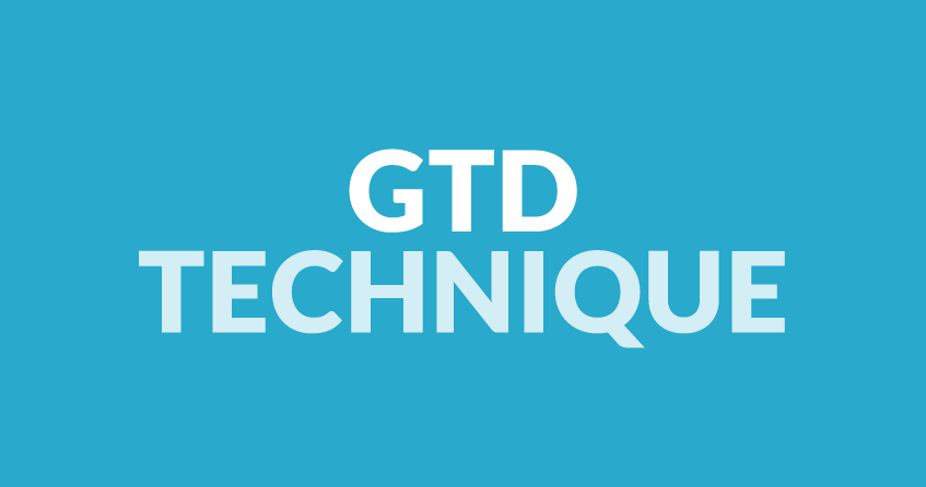 GTD technique (getting things done)