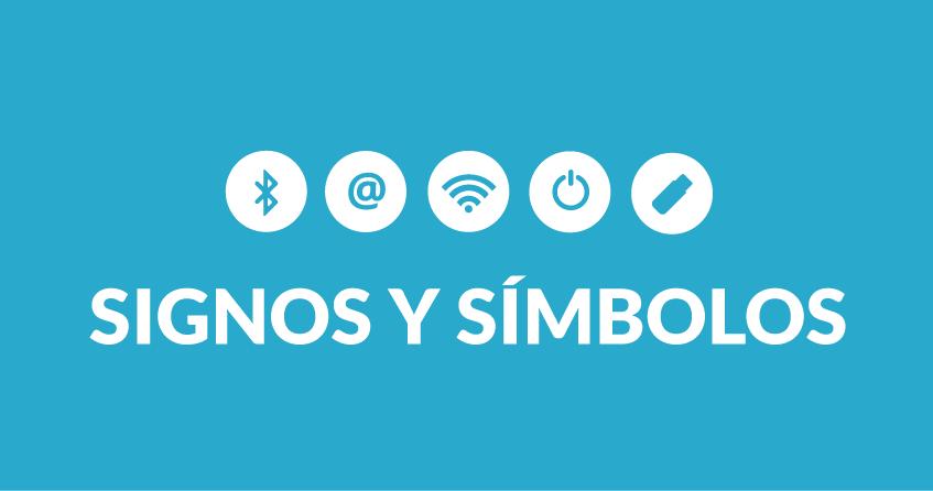 Qué significan el icono de encendido y otros símbolos tecnológicos muy populares