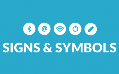 Understanding the power symbol and other popular technology symbols