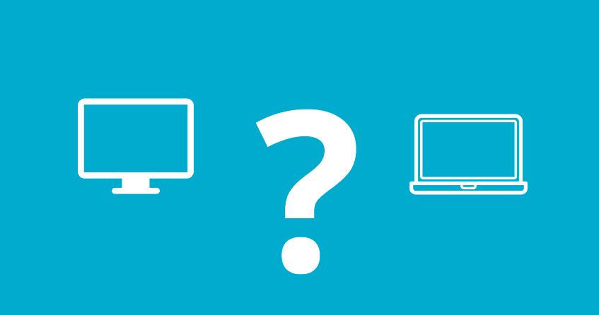 Ordenador portátil o de sobremesa. ¿Cuál elegir?