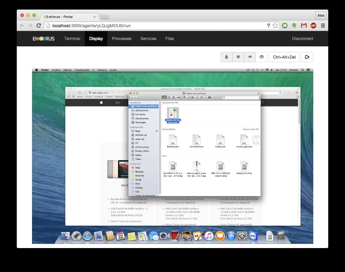 remote desktop ehorus